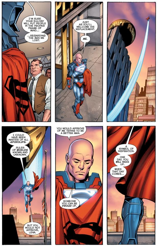 lex luthor as superman