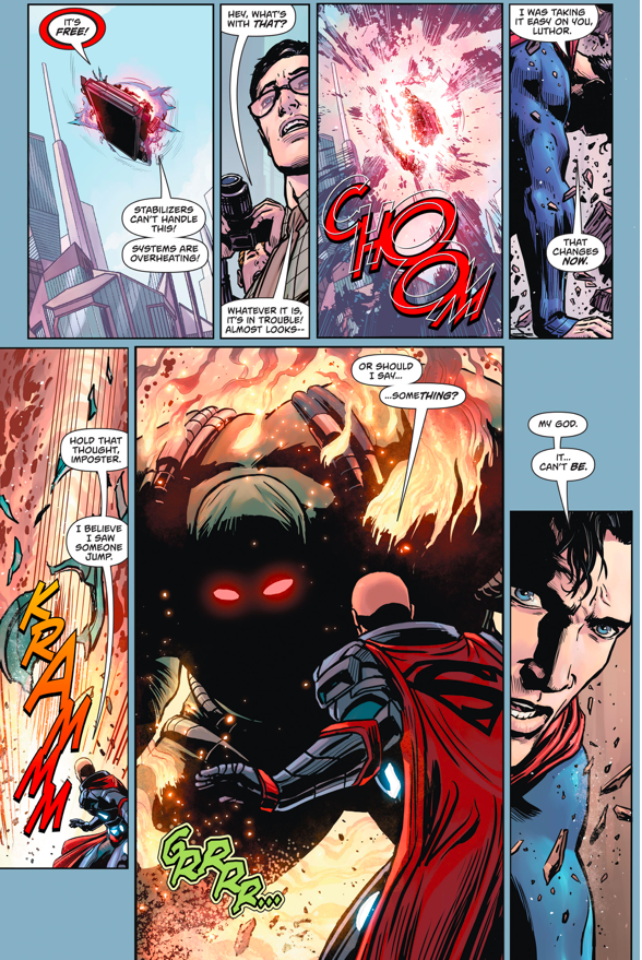Pre-Flashpoint Doomsday (Action Comics #957)