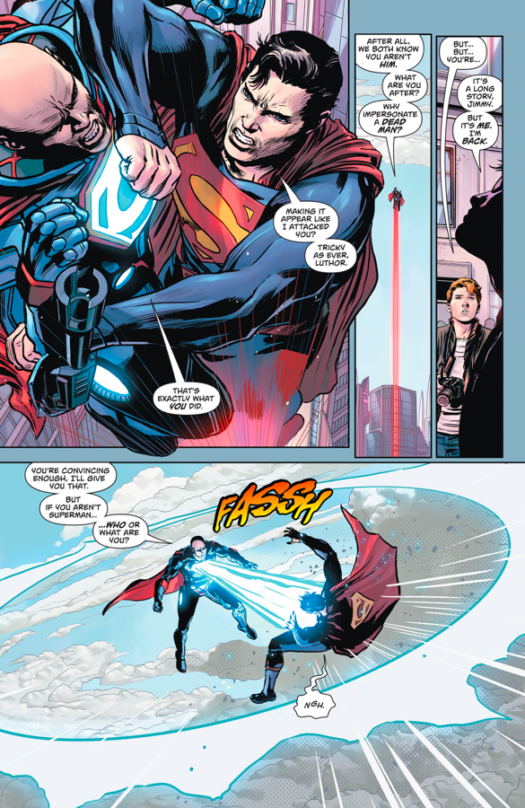 Pre-Flashpoint Superman VS Lex Luthor