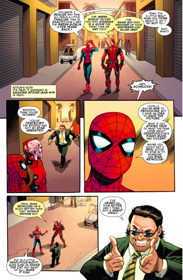 Spider-Man's Suggestion About The Deadpool Movie