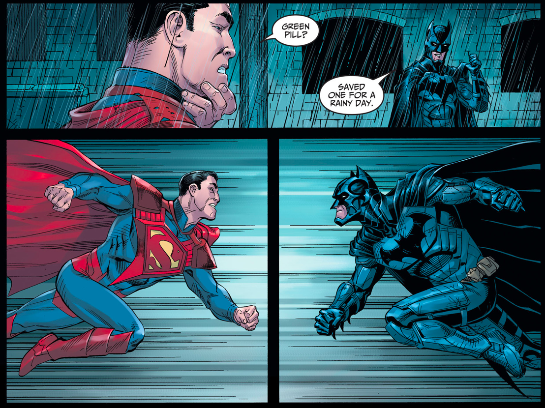 Superman vs batman 2
