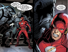 The Flash Kills King Shark (Injustice Gods Among Us)
