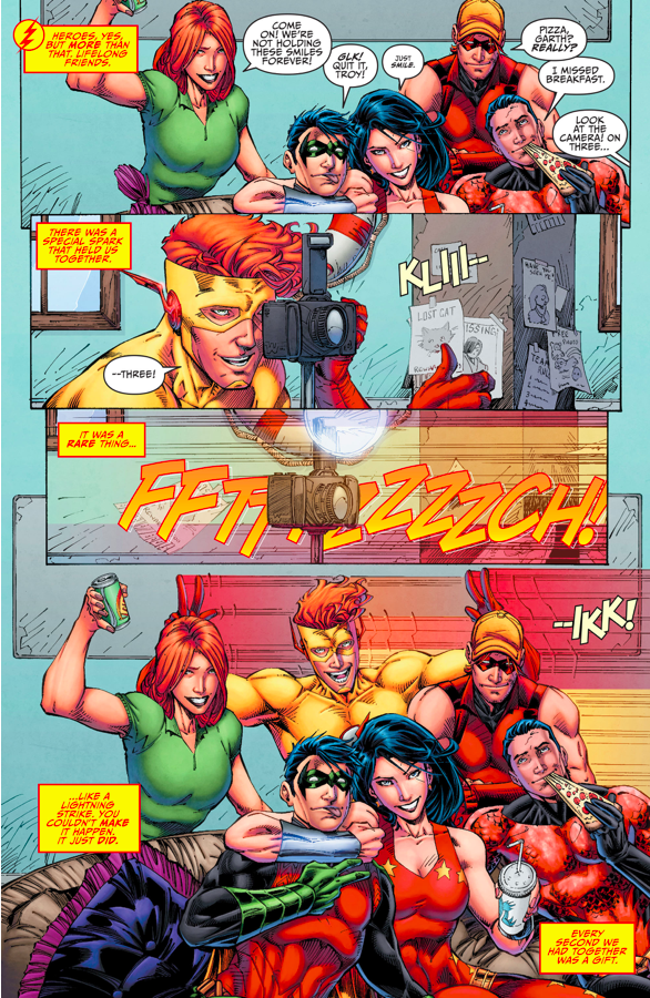 The Original Teen Titans (Rebirth)