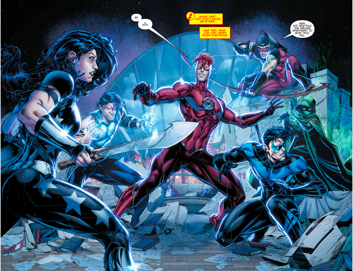 The Titans Attack Wally West Rebirth  Comicnewbies-4859