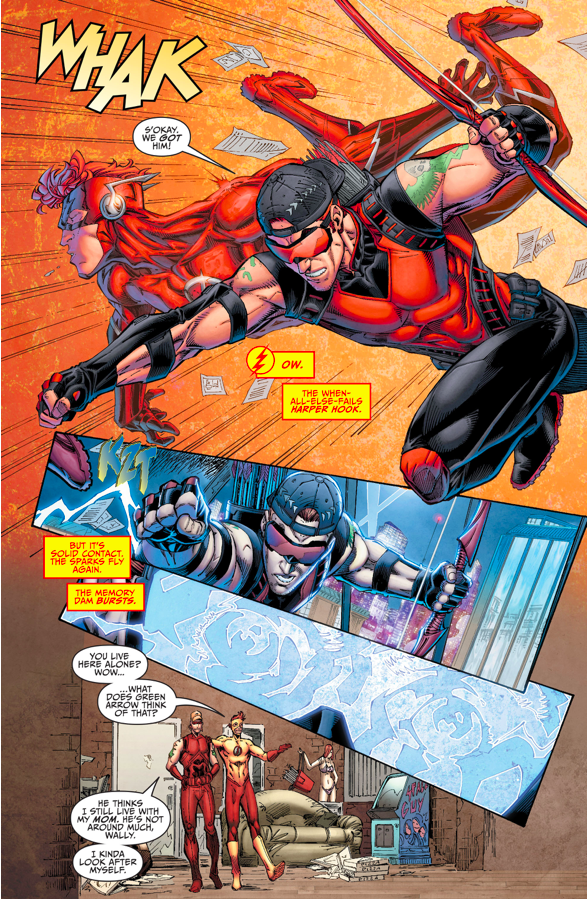 The Titans Remember Wally West (Rebirth)