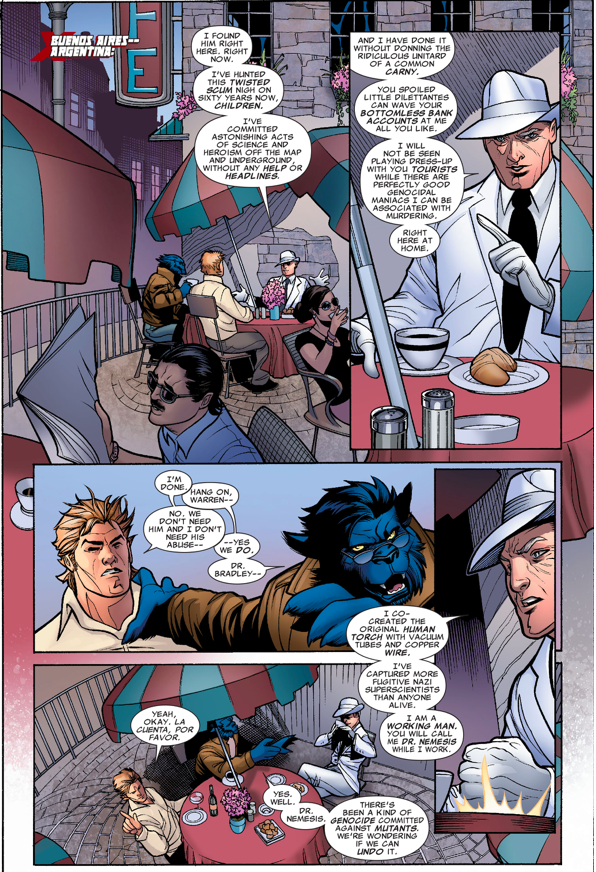 The X-Men Recruits Doctor Nemesis