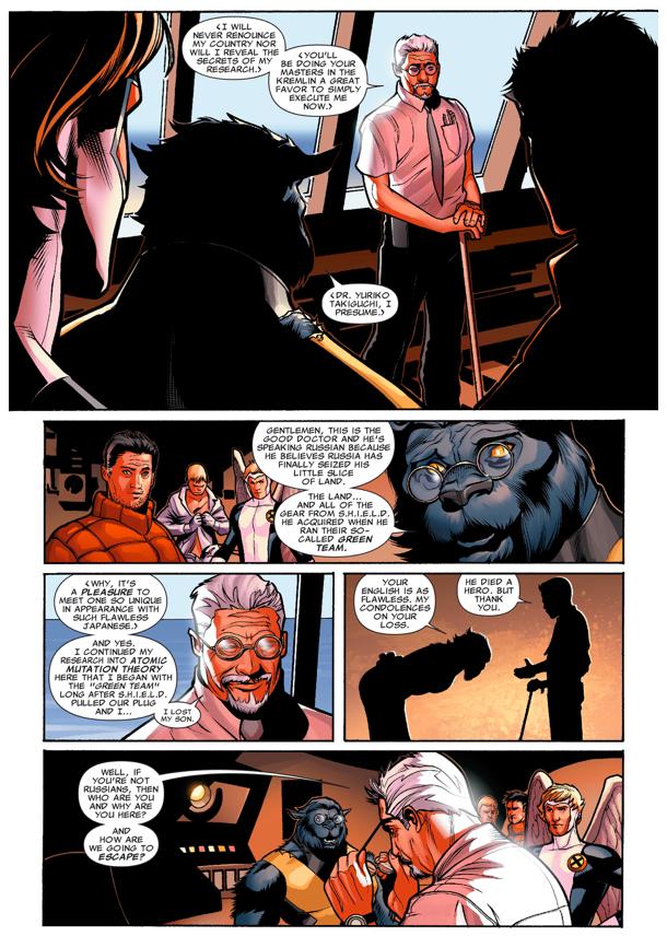 The X-Men Recruits Doctor Yuriko Takiguchi