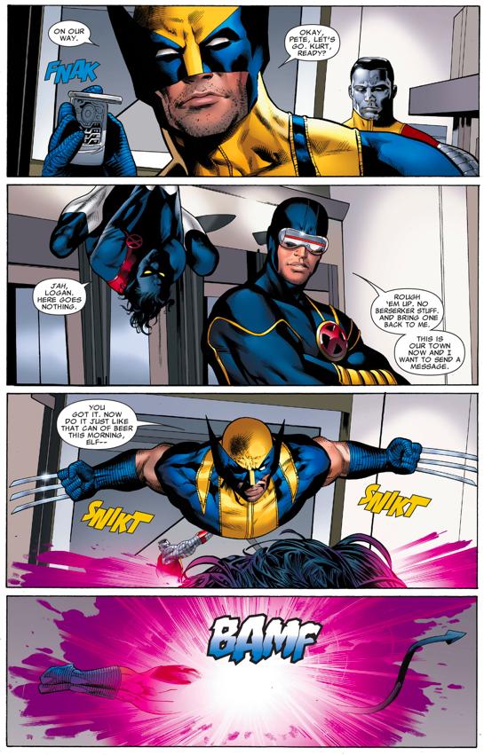 The X-Men Sets An Ambush For The Hellfire Cult
