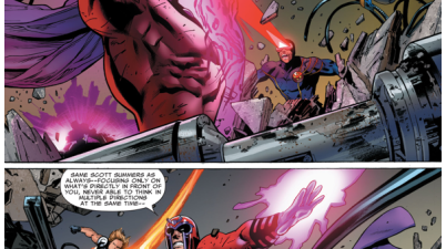 The X-Men VS Magneto (Uncanny X-Men #500)