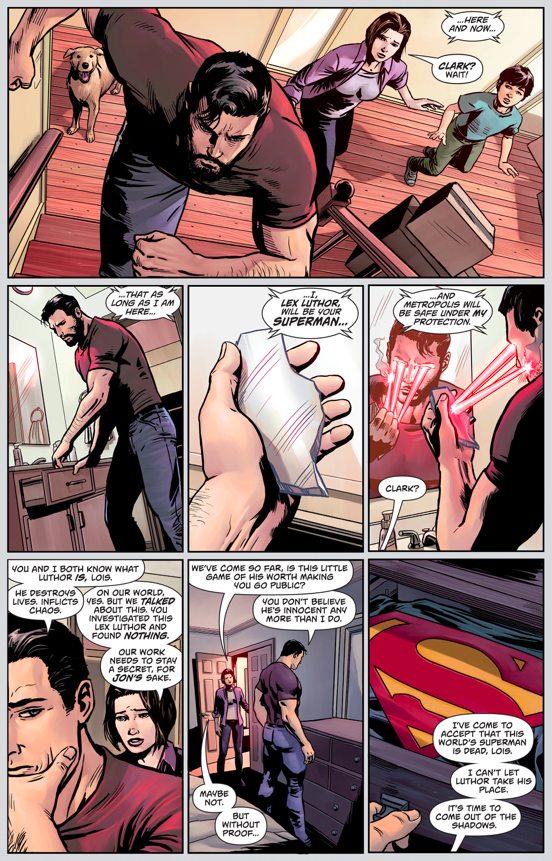 What Made Pre-Flashpoint Superman Come Out Of Hiding