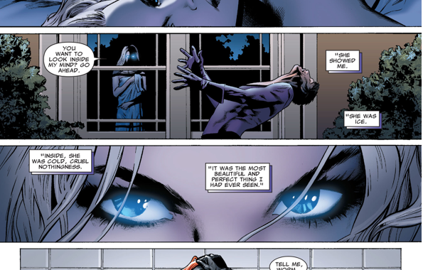 When Empath Tried To Enter Emma Frost's Mind