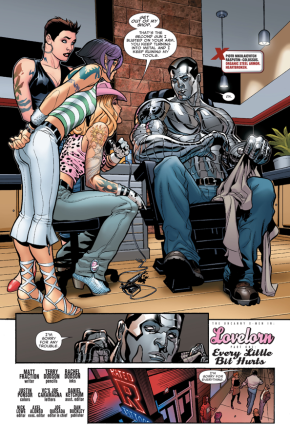 Why Colossus Can't Get A Tattoo
