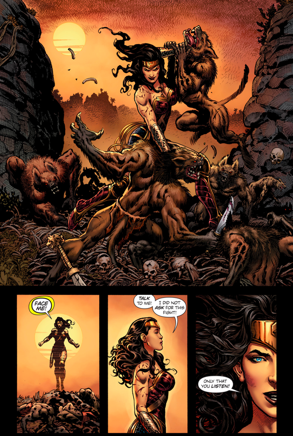 Wonder Woman Asks The Cheetah For Help