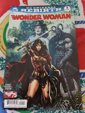 wonder woman rebirth 1