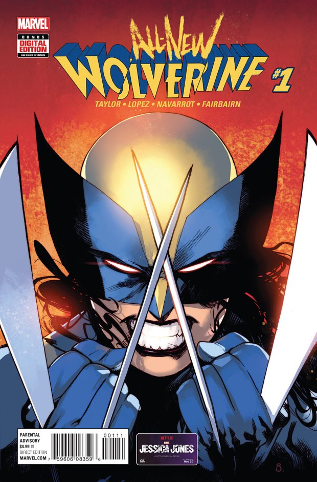 all new wolverine laura kinney
