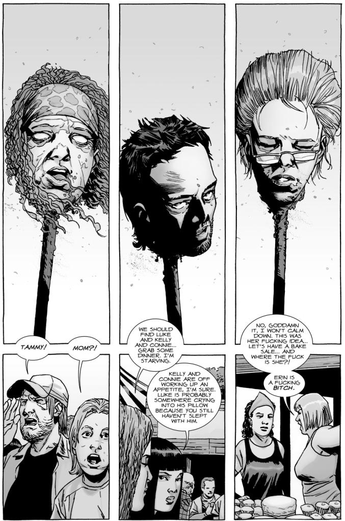 Alpha Kills Ezekiel And Rosita