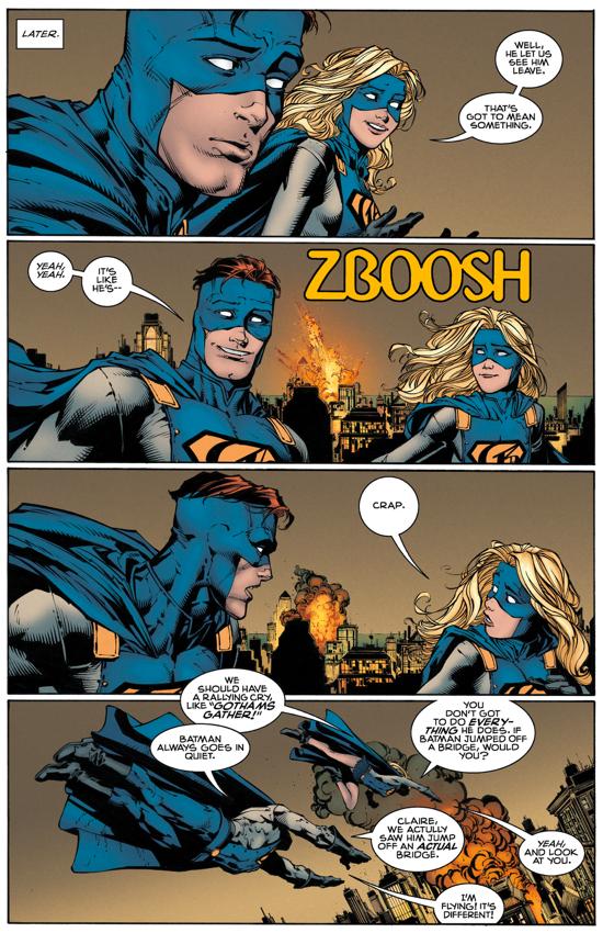 Batman Approves Of Gotham And Gotham Girl