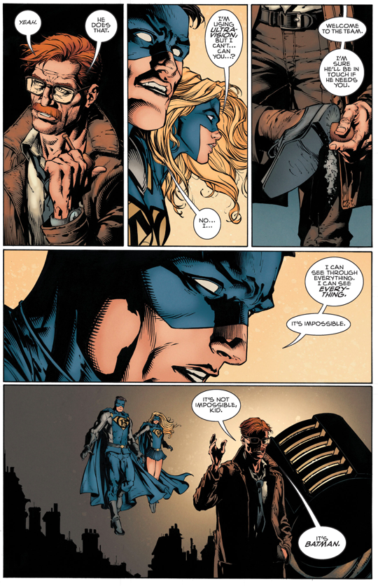 Batman Tries His Disappearing Trick With Gotham And Gotham Girl