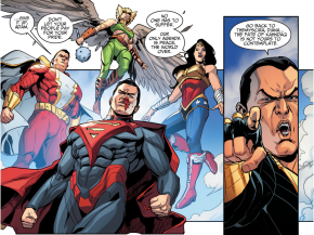 Black Adam Swears Allegiance To Superman's Regime