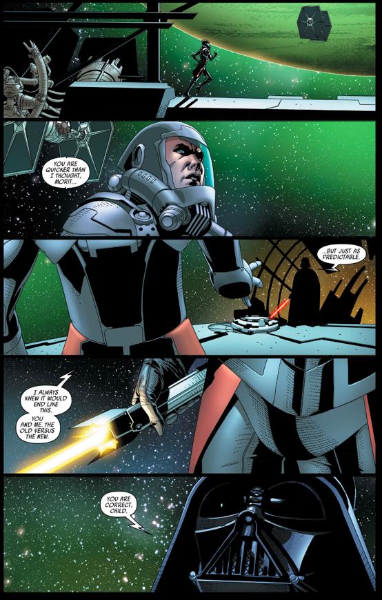 Darth Vader VS Morit