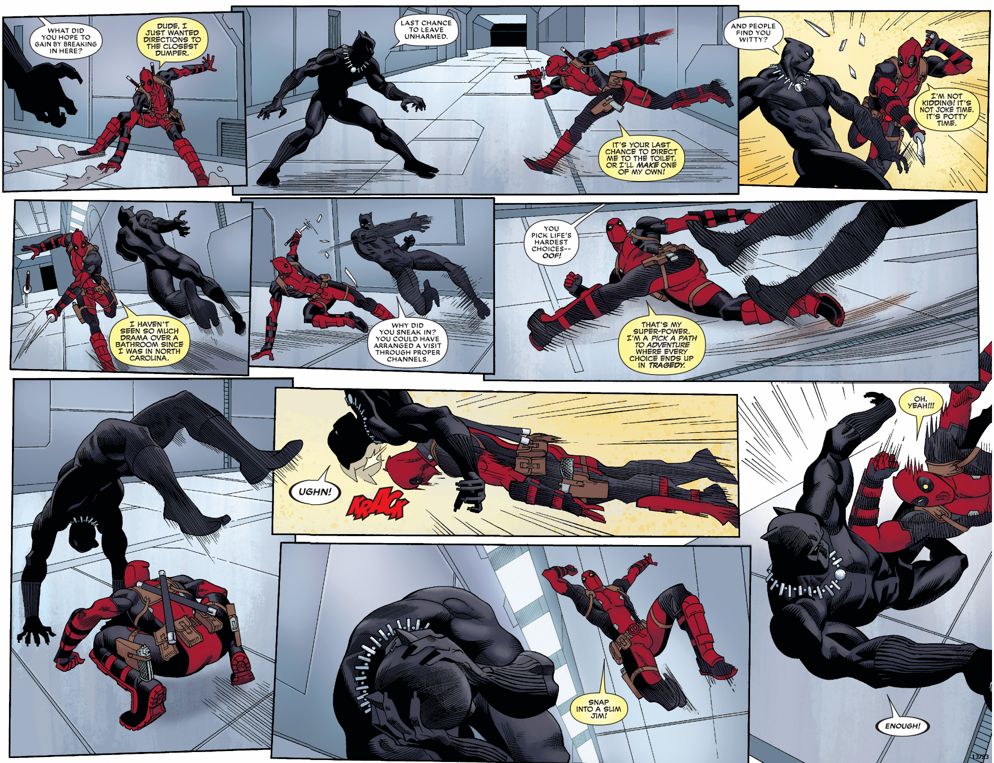 Black Panther vs Nightwing : whowouldwin - photo#28