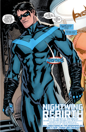 Dick Grayson Returns As Nightwing (Nightwing - Rebirth)