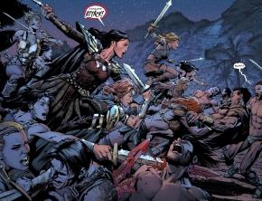 donna troy massacres the Sons of Themyscira