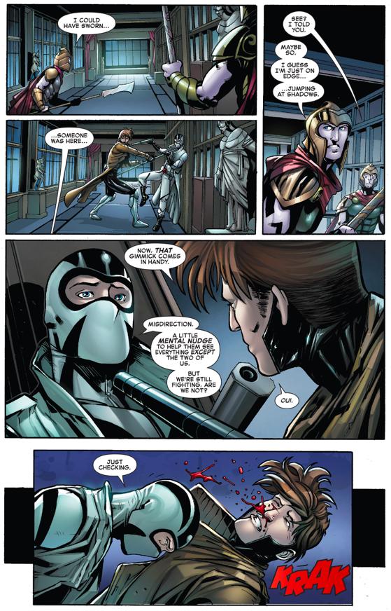 Gambit VS Fantomex (Civil War II)