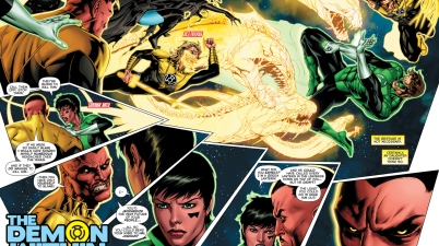green lantern hal jordan vs sinestro's elite guard