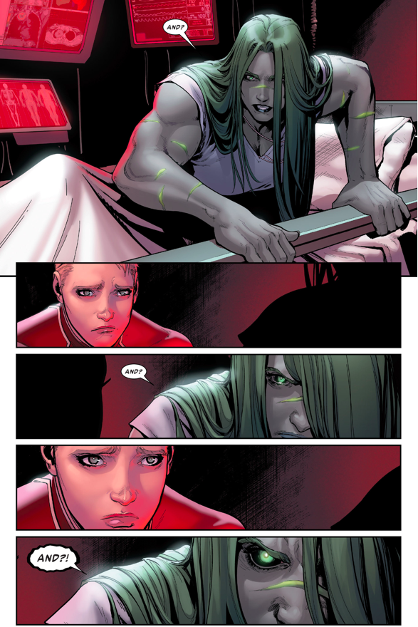 Hawkeye Is Acquitted (Civil War II)