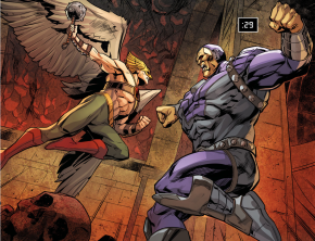 Hawkman VS Mongul (Injustice Gods Among Us)