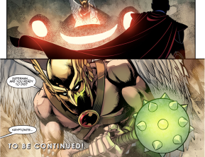 Hawkman's Kryptonite Mace