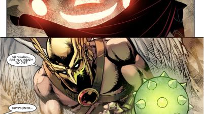 Hawkman's Kryptonite Mace