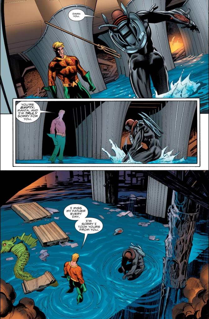 How Aquaman Defeated Black Manta (Rebirth)