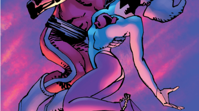 Lara And Baal Kiss (The Master Race)