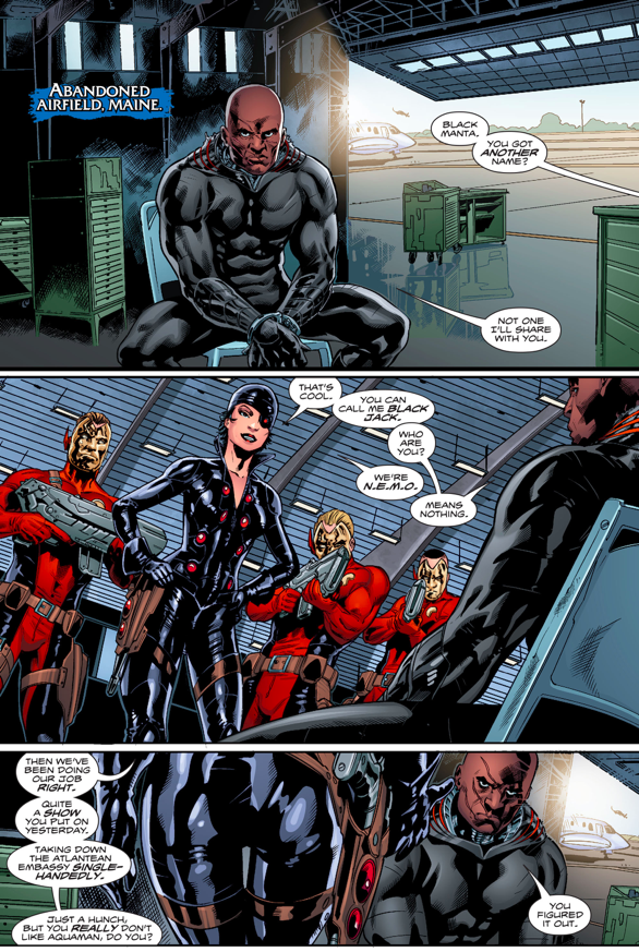 N.E.M.O Recruits Black Manta