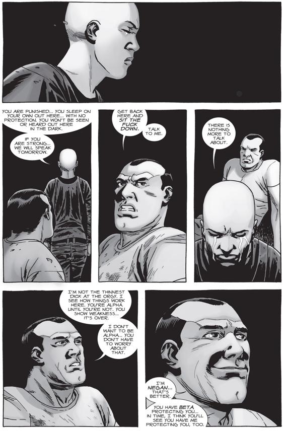 Negan Kills Alpha (The Walking Dead)   Comicnewbies