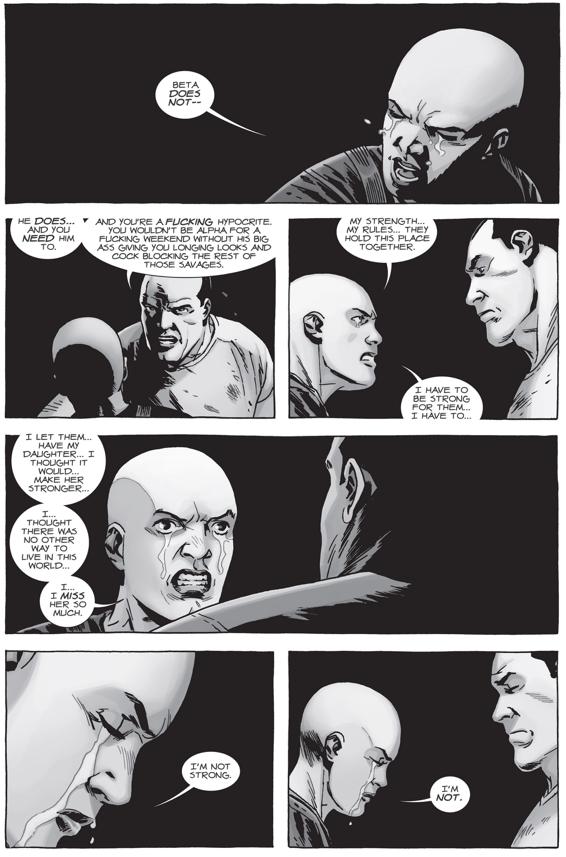 Negan Kills Alpha (The Walking Dead)