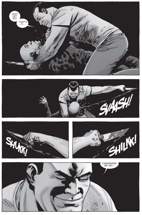 Negan Kills Alpha (The Walking Dead) | Comicnewbies
