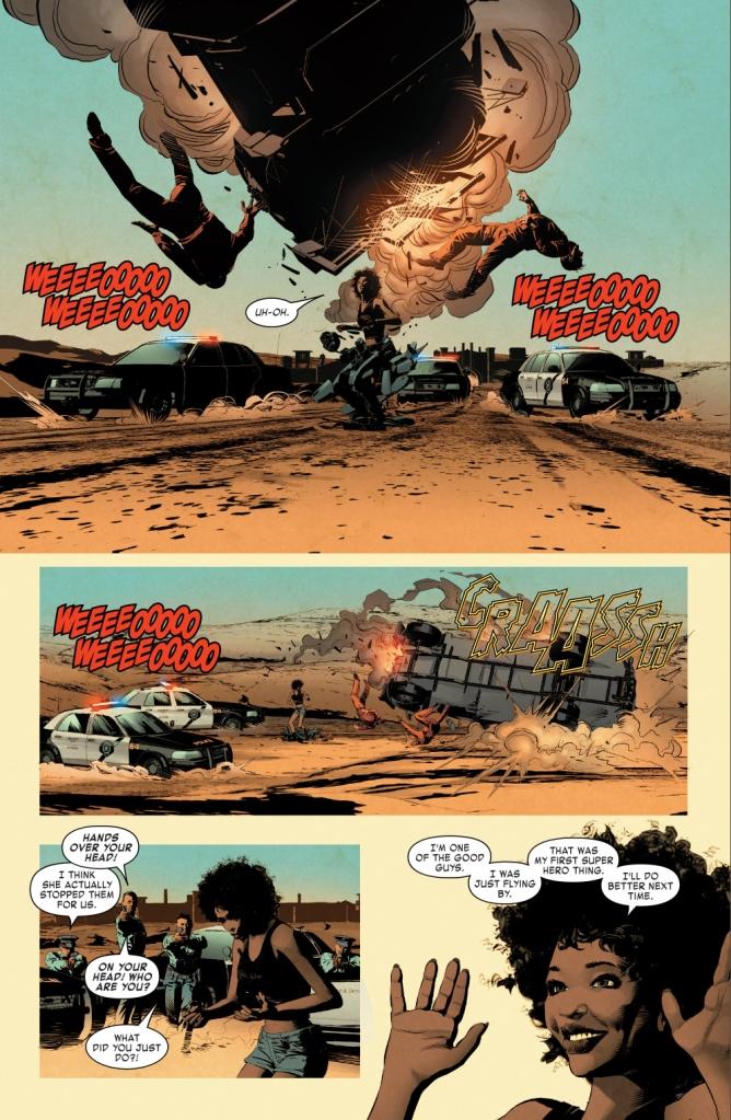 Riri Williams' First Super Hero Act