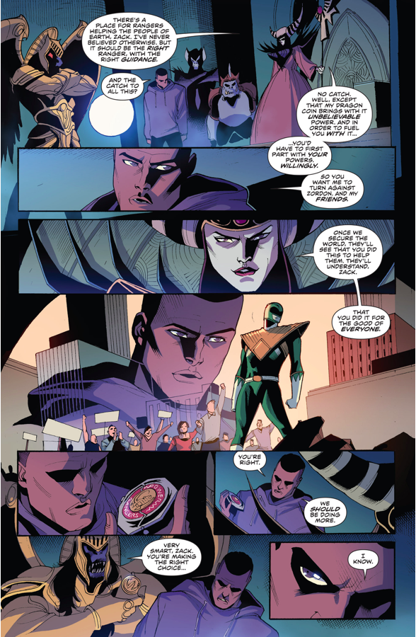 Rita Repulsa Recruits Zach Taylor As The Green Ranger