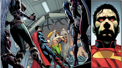 Superman Kills Hawkman (Injustice Gods Among Us)