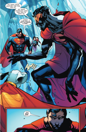 Superman Meets The Eradicator (Rebirth)