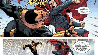 Superman VS Black Adam (Injustice Gods Among Us)