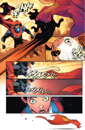 The Eradicator Absorbs Krypto's Life Force