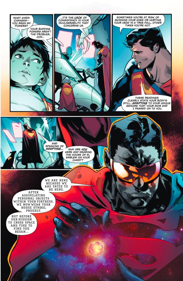 The Eradicator Explains His Mission (Rebirth)
