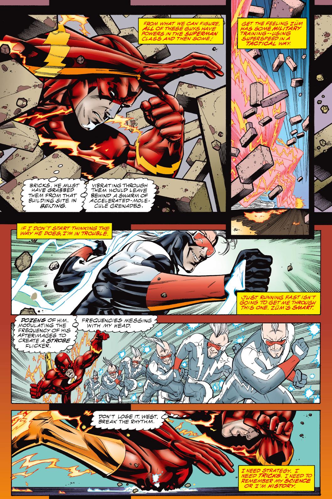 The Flash VS Zm Comicnewbies
