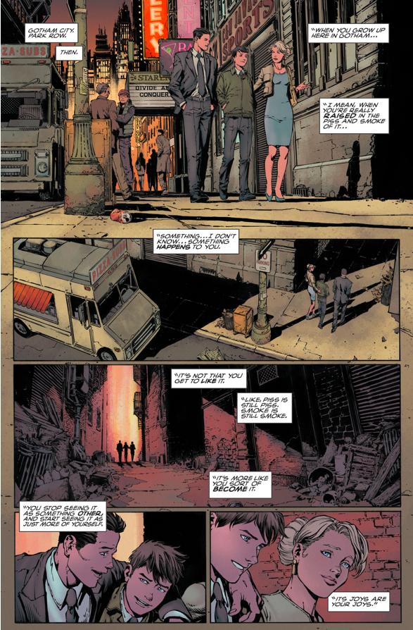 Why Gotham (Hank Glover) Idolizes Batman