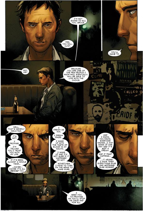Why Hawkeye Killed Bruce Banner (Civil War II)