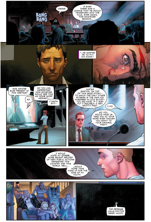 Why Hawkeye Killed Bruce Banner (Civil War II)